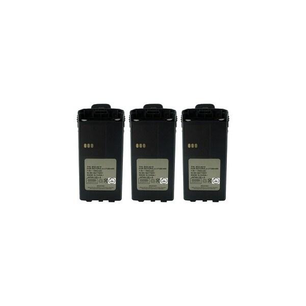 Replacement Battery 1900mAh For Motorola PMNN4081 / PMNN4082 / CP1300 Models 3 Pack