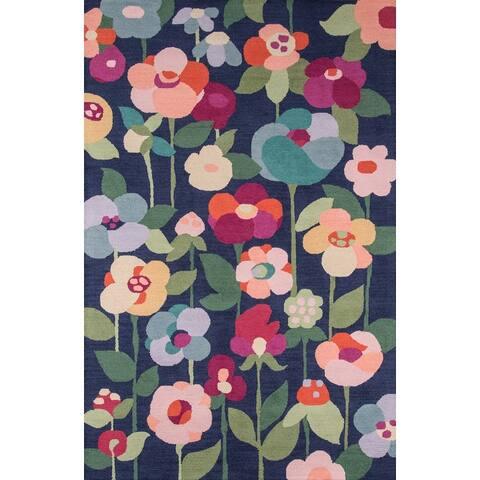 Momeni Newport Hand Tufted Wool Floral Area Rug