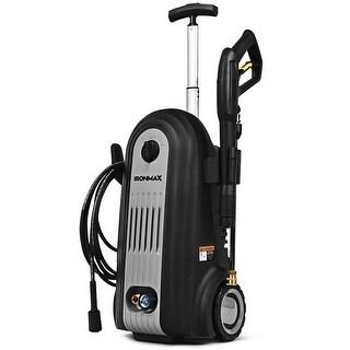 "2800 PSI Electric High Pressure Washer Cleaner 1.96 GPM 2500W - 14"" x 11.5"" x 22""/26""/32.5"" (L x W x H)"
