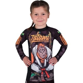 Tatami Kid's Hang Loose Orangutan Long Sleeve BJJ Rashguard