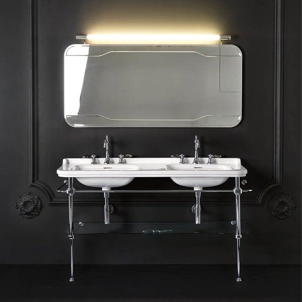 WS Bath Collections Waldorf 4143K1+9195K1 Waldorf Ceramic White. Opens flyout.