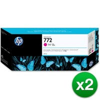 HP 772 300-ml Magenta DesignJet Ink Cartridge (CN629A)(2-Pack)