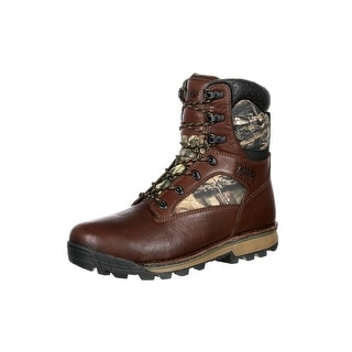 Rocky Outdoor Boots Mens Traditions Waterproof Insulated Brown RKS0259