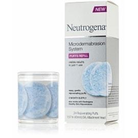 Neutrogena Microdermabrasion System Puffs Refill 24 Each