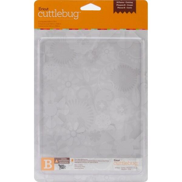 """Cuttlebug Cutting Plate B-6""""X8"""" 2/Pkg"""