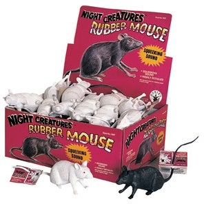 Rubber Mouse Prop