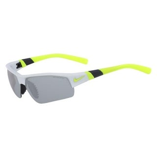 Nike Mens Show X2 Sport Sunglasses Max Optics Mirrored - matte pure platinum/gray - o/s