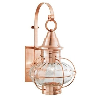 "Norwell Lighting 1609 Vidalia Onion Single Light 25"" Tall Outdoor Wall Sconce with Glass Shade"