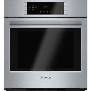 Bosch HBN8451UC 27 Inch 3.9 Cu. Ft. Wall Oven with European Convection from the S800 Series - Stainless Steel