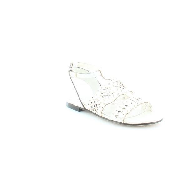 Furla Aurora Women's Sandals & Flip Flops Ivory - 6