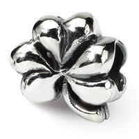 Sterling Silver Reflections Clover Bead (4mm Diameter Hole)