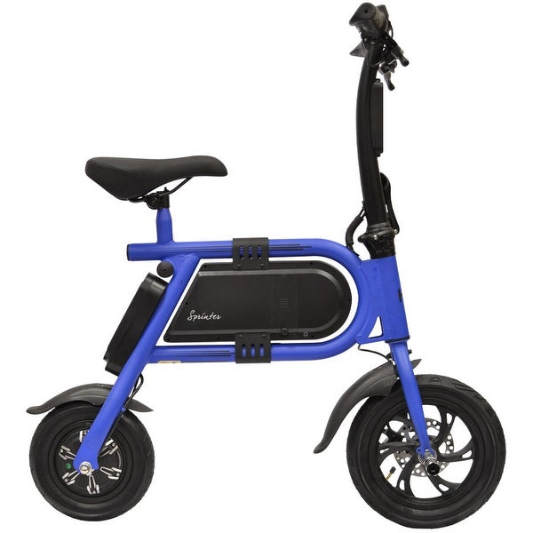 bb9e533ecc0 Shop Hover-Way Collapsible 12 MPH Electric Scooter Sprinter Bike ...