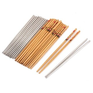 Household Restaurant Kitchen Chinese Style Tableware Dinner Chopsticks 20 Pairs
