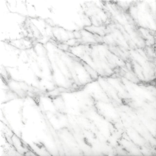 "Emser Tile M01BIAN2424  Marble - 24"" x 24"" Square Floor and Wall Tile - Polished Marble Visual - Bianco Gioia"