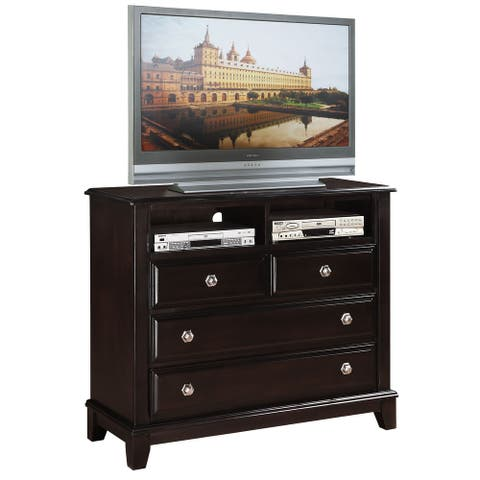 Ashford 4-drawer Wood Entertainment Center