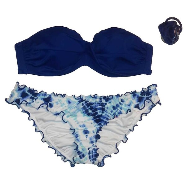Victoria's Secret 2PC Swimsuit Bikini Set Knockout Bandeau