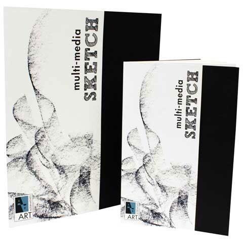 """Art Alternatives - Artist's Black Book - Multi-Media Sketch - 8.5"""" x 11"""""""