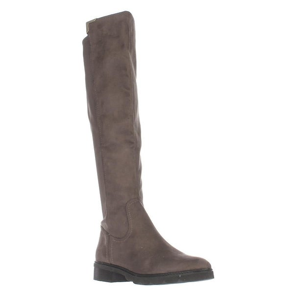 Marc Fisher Felissa2 Knee High Riding Boots, Gray