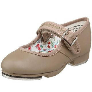 Capezio Girls Mary Jane Solid Tap Shoes
