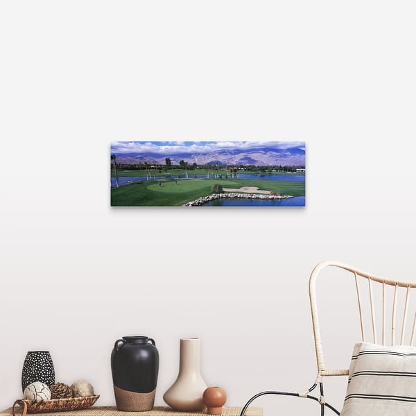 California Palm Springs Golf Course Canvas Wall Art Overstock 16861107
