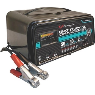 Schumacher SE-5212 Automatic Traditional Battery Charger, 2/10/50 Amp