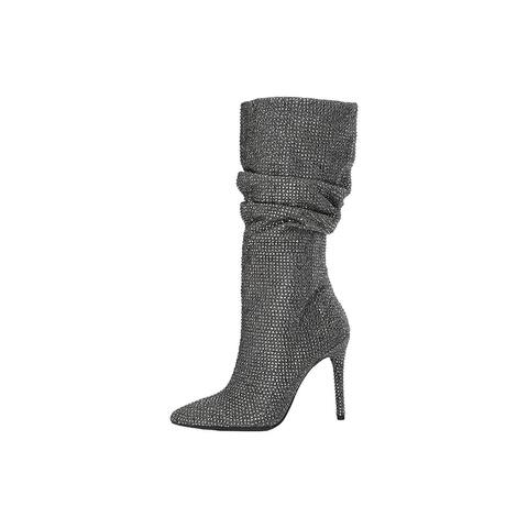 Jessica Simpson Womens Layzer Pointed Toe Mid-Calf Fashion Boots