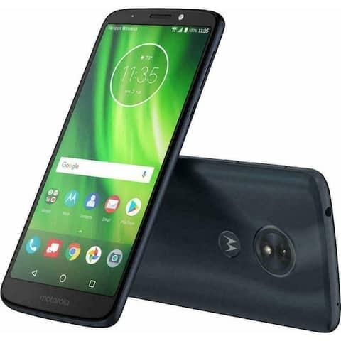 New Motorola Moto G6 XT1925 32GB Black Verizon Smartphone