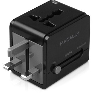 Macally LPPTCIIMP Macally Universal Power Plug Adapter - 5 V DC Output Voltage - 1 A Output Current