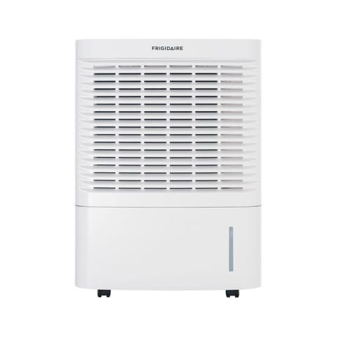 "Frigidaire FAD954DWD 18"" Wide 95 Pint Freestanding Dehumidifier with Three Speeds - White"