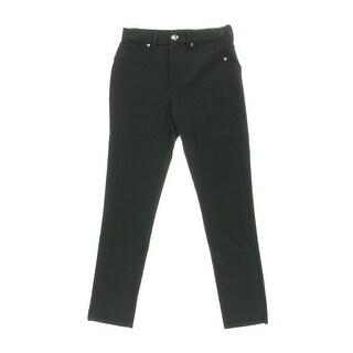 Juicy Couture Black Label Womens Ponte High-Waist Pants