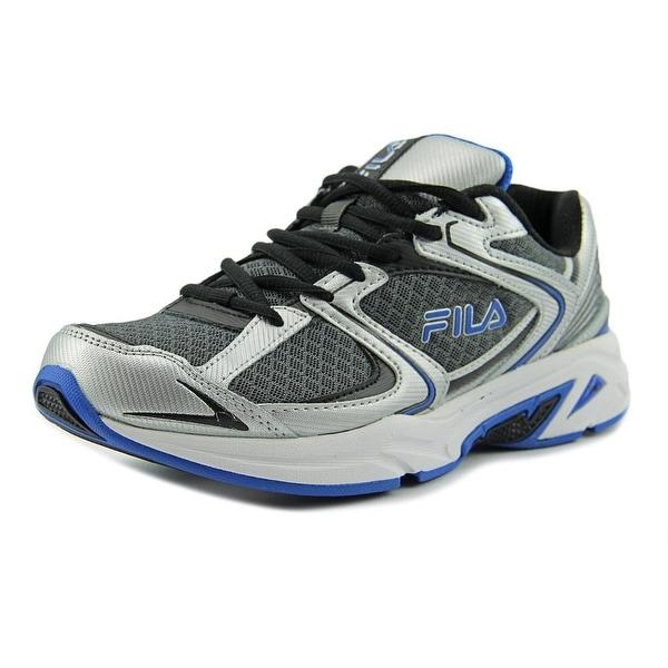 Fila Thunderfire Men Round Toe Synthetic Gray Running Shoe