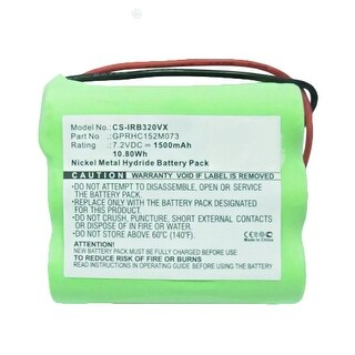 Replacement Battery for iRobot IRB320VX (Single Pack) Replacement Battery