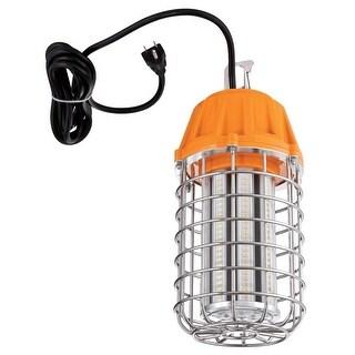 "Westinghouse 6349200 1-Light 12-15/16"" Long Integrated LED 7500 Lumen Plug-In Work Light - Orange/Chrome - N/A"