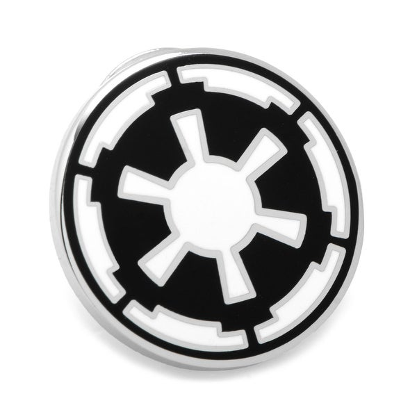 Star Wars Mens Imperial Empire Enamel Silver Plated Suit Collar Lapel Pin