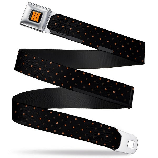 Call Of Duty Black Ops 3 Bold Trey Full Color Black Orange Call Of Duty Seatbelt Belt