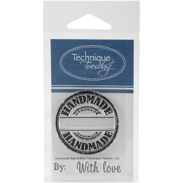 "Technique Tuesday Clear Stamps 2""X2.5""-Handmade Seal"
