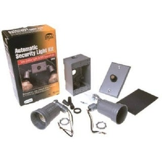 Bell 5883-6 Floodlight Kit With Photocell, White