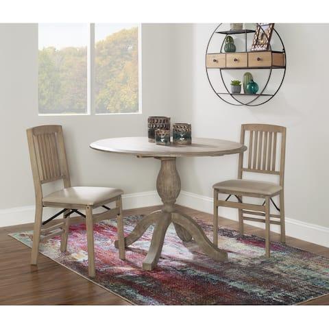Linon Piedmont Drop Leaf Table