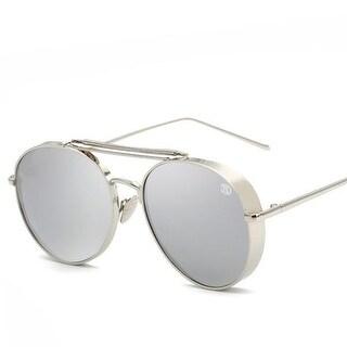 Street Affaries Boss Sunglasses In Silver - One Size