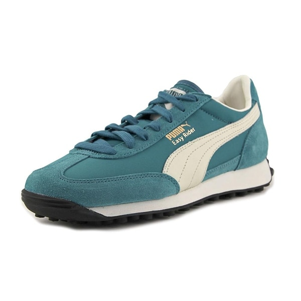 Puma Easy Rider VTG Men Round Toe Suede Blue Sneakers