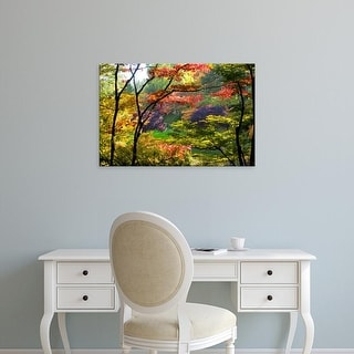 Easy Art Prints Panoramic Images's 'Butchart Gardens, Victoria, Vancouver Island, British Columbia, Canada' Canvas Art