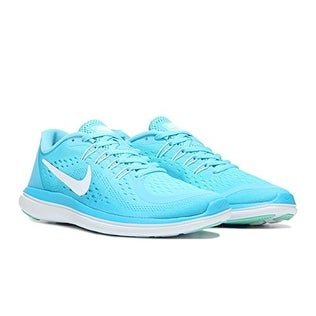 eddbb38a0ea9 Shop Nike Flex RN 2017 Polarized Blue White Chlorine Blue Women s Running  Shoes - Free Shipping Today - Overstock - 20984179