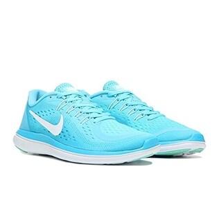 Nike Women's Flex 2017 RN, Running, Polarized Blue (Option: 4.5)