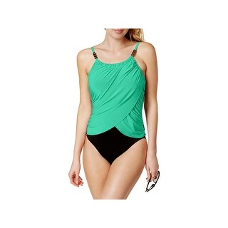 Magicsuit Womens Slimming Ruched One-Piece Swimsuit