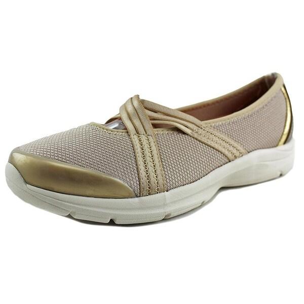 Easy Spirit e360 Quinty Women Dk Gold Walking Shoes