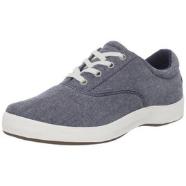 Grasshoppers Womens Janey Chambray Memory Foam Casual Shoes