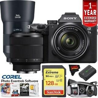 Sony Alpha a7 III Camera Lens Intl Version Master Kit