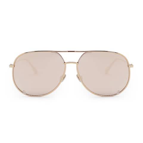 Christian Dior Aviator Sunglasses ByDior DDBSQ 60 - 60mm x 13mm x 145mm