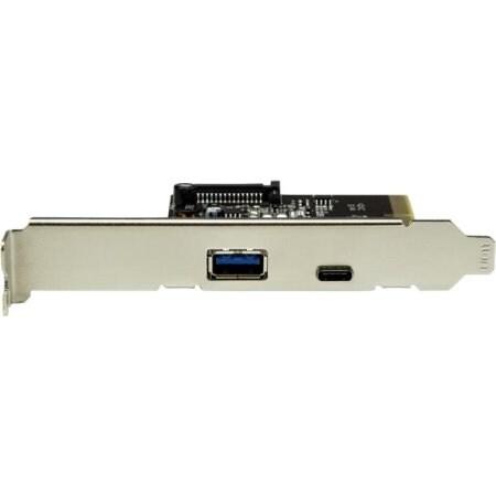 Startech.Com Dual Port Usb 3.1 Card 10Gbps Per Port - Usb C / Usb A - Pcie
