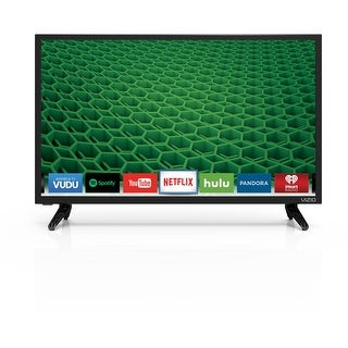 "Vizio D24-D1 24"" Class Edge-Lit LED Smart TV 1920x1080 60Hz HDMI port"